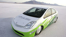 Landspeed Prius Races Across Bonneville Salt Flats