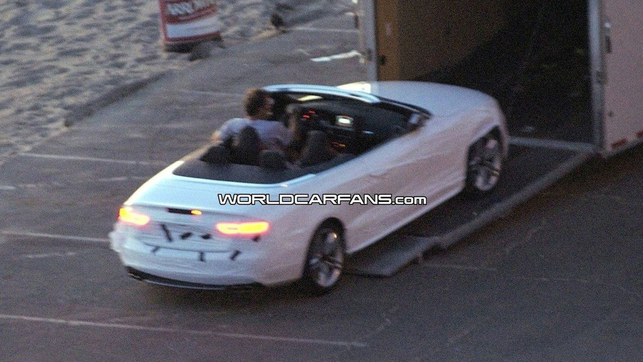 Audi S5 Convertible First Spy Photos