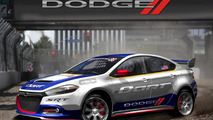 Dodge Dart rally car previewed for Global RallyCross Championships