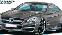 Lorinser previews styling package for 2013 Mercedes SL