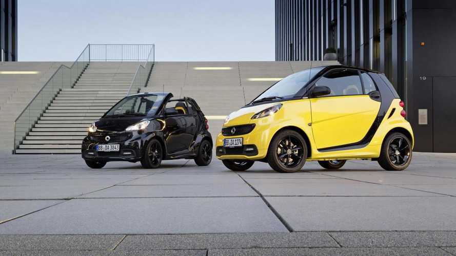 Smart ForTwo CityFlame coupe and cabrio revealed