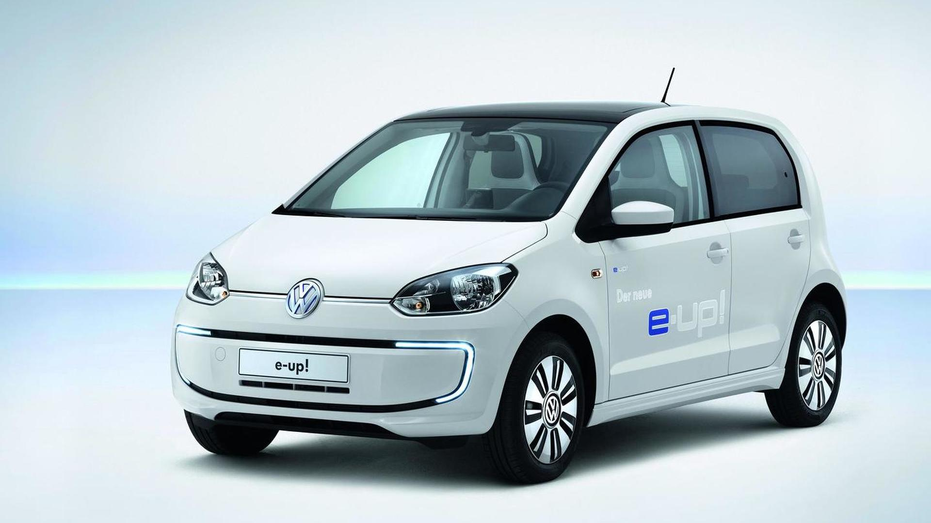 Volkswagen e-up! to cost 2.5 times more than the standard model