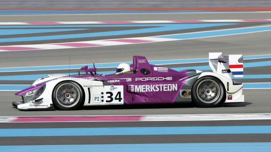 Porsche RS Spyder Hits the Track in France