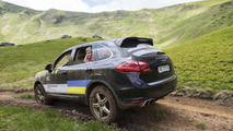 Porsche Cayenne S Diesel at the Porsche Performance Drive Chisinau-Bratislava 13.6.2013
