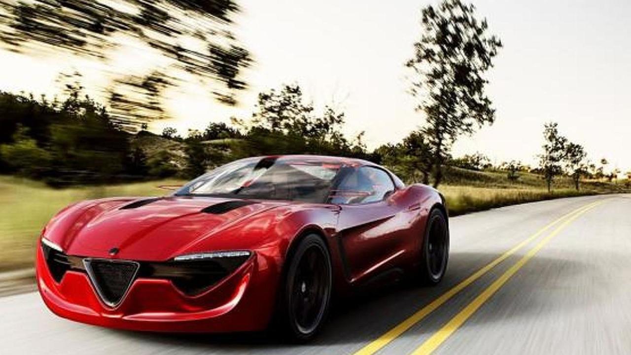 Alfa Romeo 6C render / Alex Imnadze