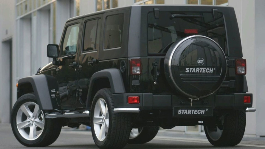 Jeep Wrangler by Startech Debut at Essen