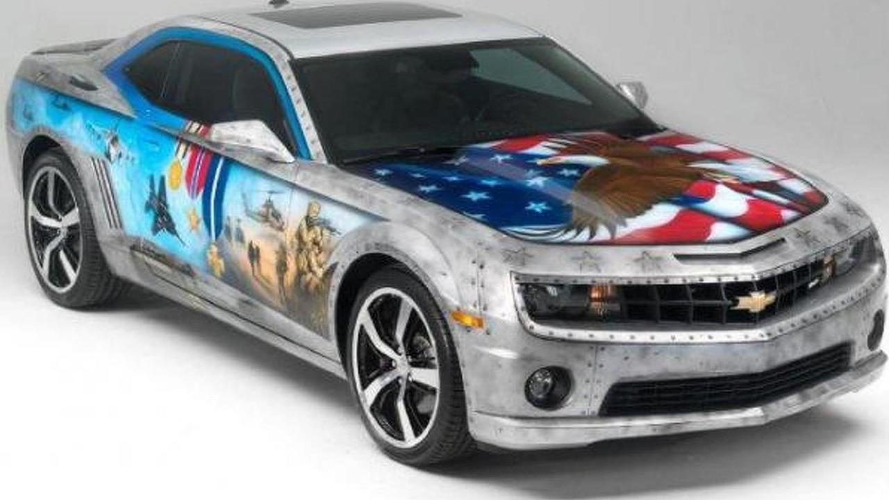 Chevrolet Military Tribute Camaro - 09.12.2011