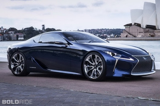 Lexus LF-LC Inches Closer to Production With Sexy Blue Makeover, More Details