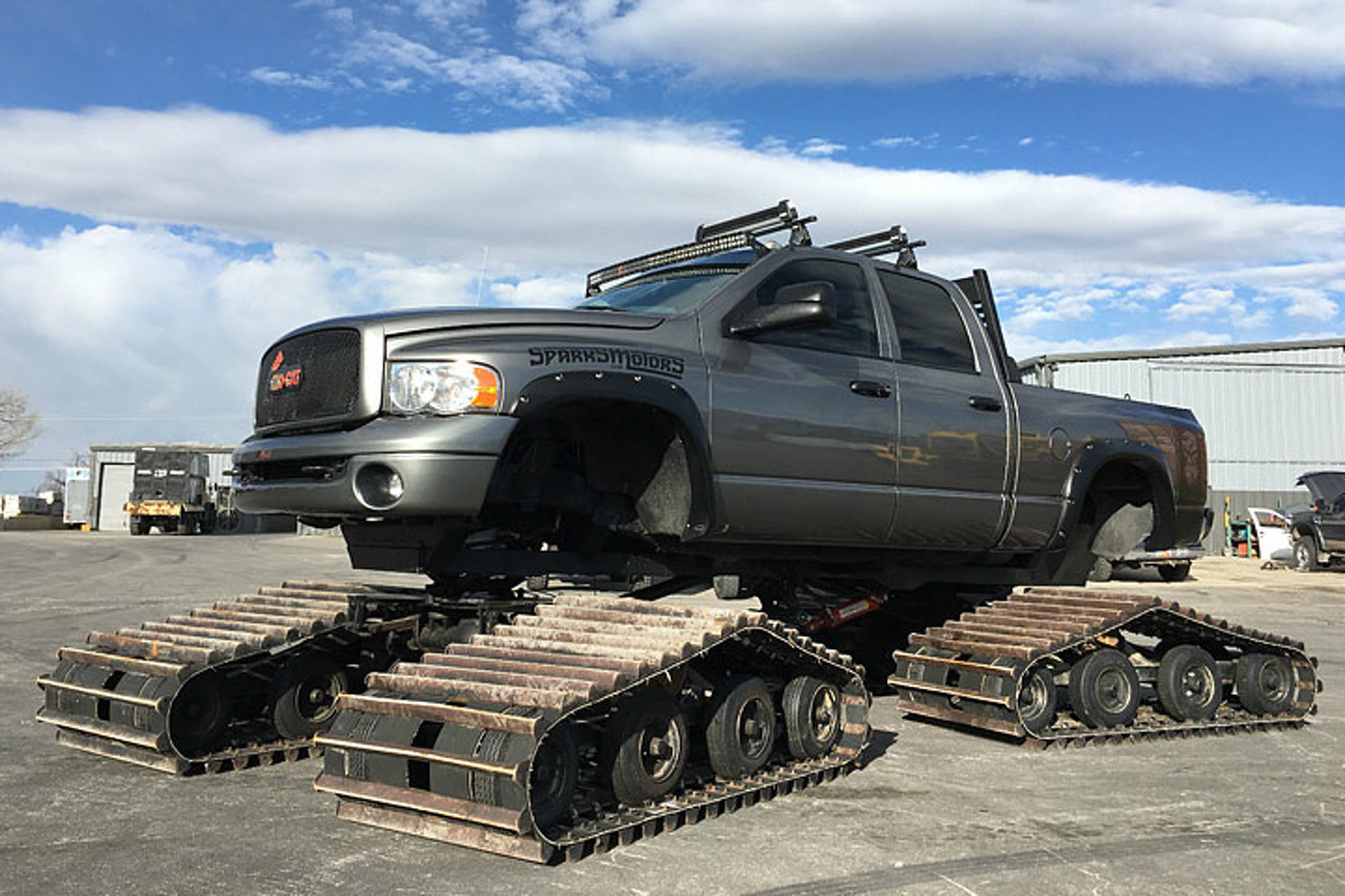 You Can Buy The Sno Cat Dodge Ram From Diesel Brothers