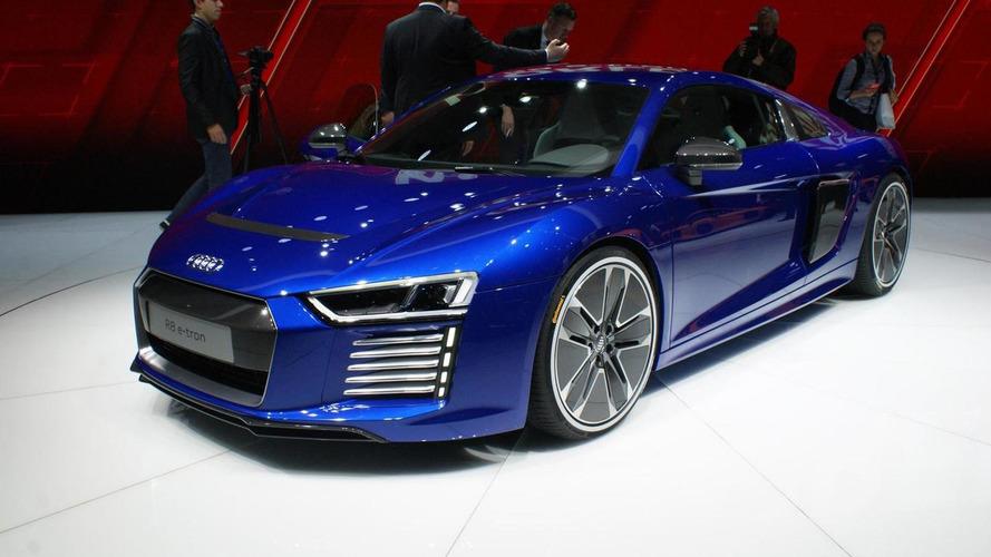 Audi R8 e-tron weighs a hefty 1,840 kg