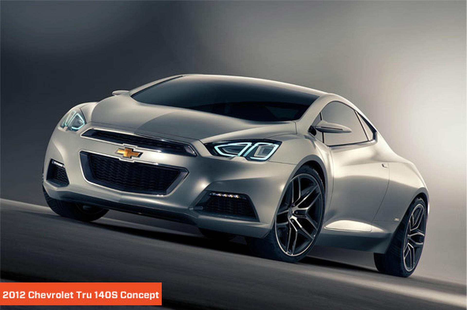 Future Rides: Chevrolet Tru 140S and Code 130R