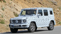 Next-gen Mercedes-Benz G-Class spy photos