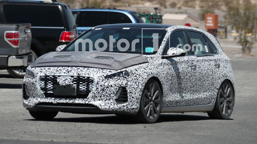 Hyundai i30 N spied in the United States