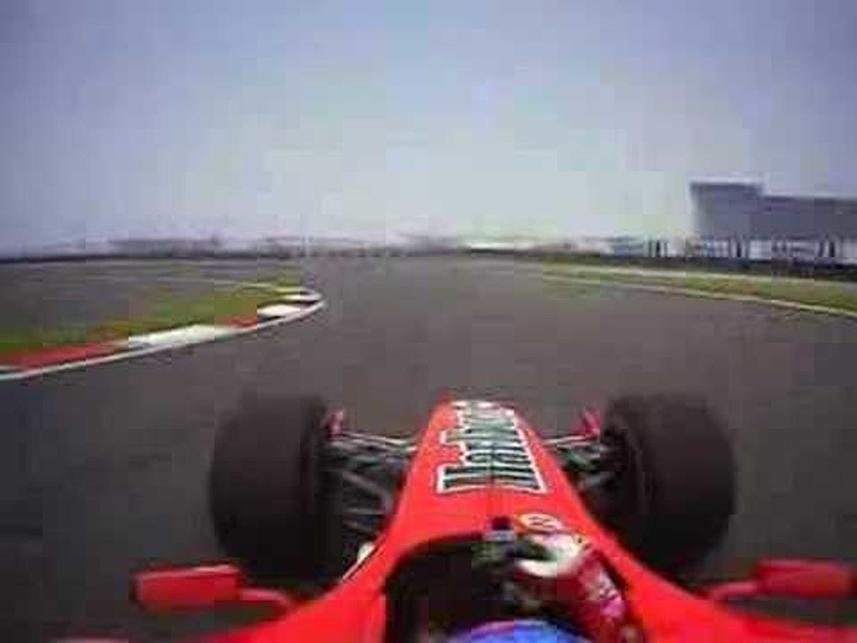 China's lap onboard