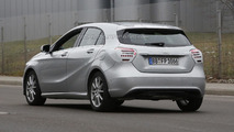 Mercedes A-Class facelift spy photo