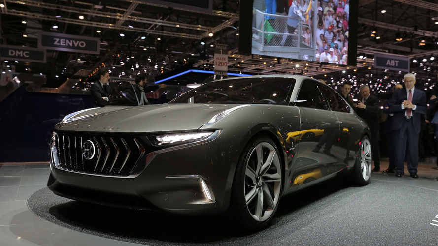 Pininfarina H600 Concept Bows with 800 Horsepower