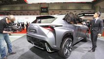 Lexus LF-NX Turbo premieres at Tokyo Motor Show with company's first ever turbo gasoline engine