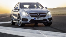 2014 Mercedes-Benz GLA 45 AMG officially revealed ahead of NAIAS debut