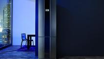Gorenje Pininfarina steel collection combined fridge freezer, Pininfarina exhibition at London 2012 projects on display 18.06.2012