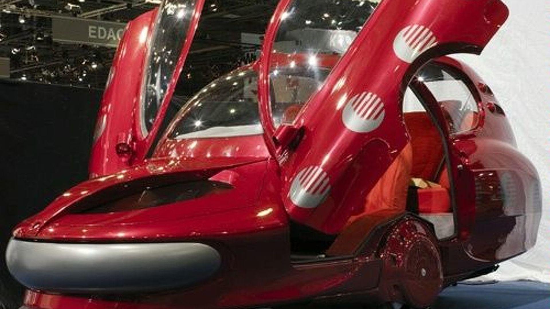 Sbarro Assystem City Car at the Geneva Motor Show