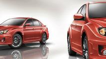 2011 Subaru WRX four door and five door 01.04.2010