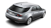 Saab 9-5 SportCombi new photos and video