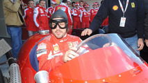 Ferrari's Alonso happy without Red Bull