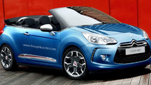Citroen DS3 Convertible Rendered & Speculated