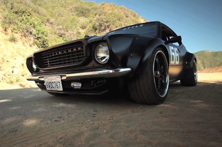 Custom Built Toyota Corolla Has A Big V8 and No Style [Video]