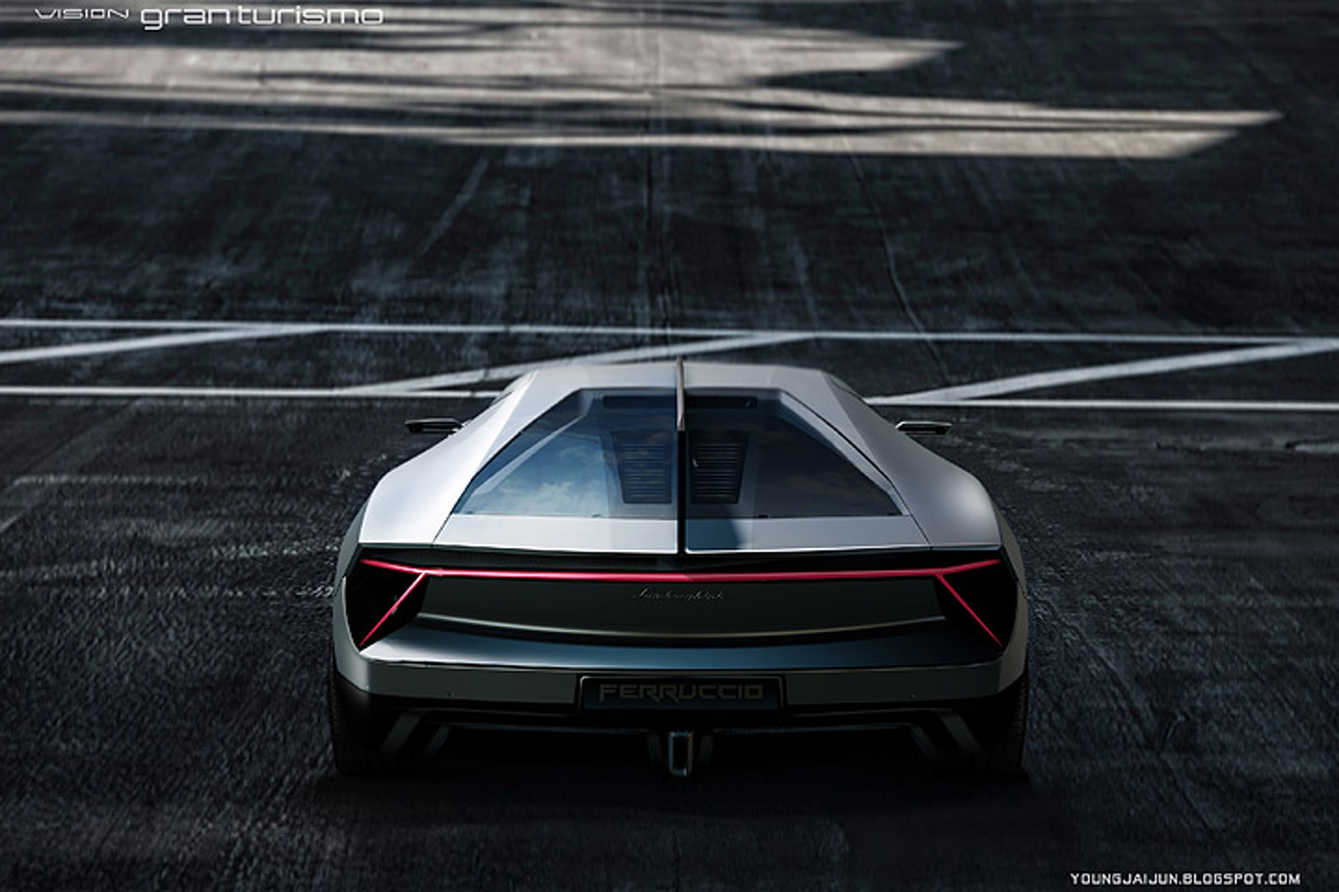 Lamborghini 'Missile' Concept is a 220MPH Blast to the Future