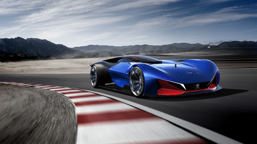 Futuristic Peugeot L500 R Hybrid pays tribute to 100-year-old race car