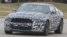 2013 Ford Mustang Shelby GT500 first spy photos, 17.03.2011