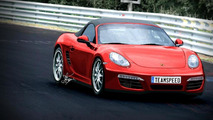 2012 Porsche Boxster grows to make way for new entry level model