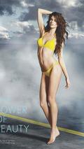 Supermodel Rianne Ten Haken photoshoot with Lexus LFA, Sports Illustrate Swimsuit Edition, 15.02.2011