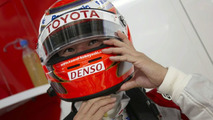 Kobayashi in for unwell Glock on Friday