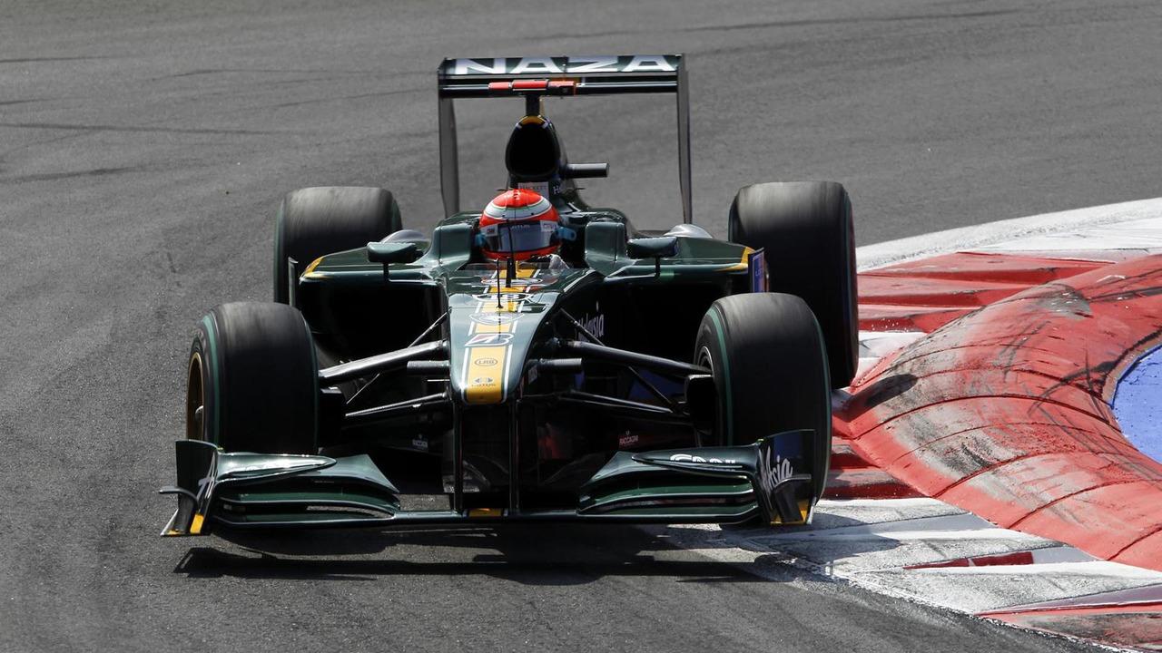 Lotus Racing F1 car