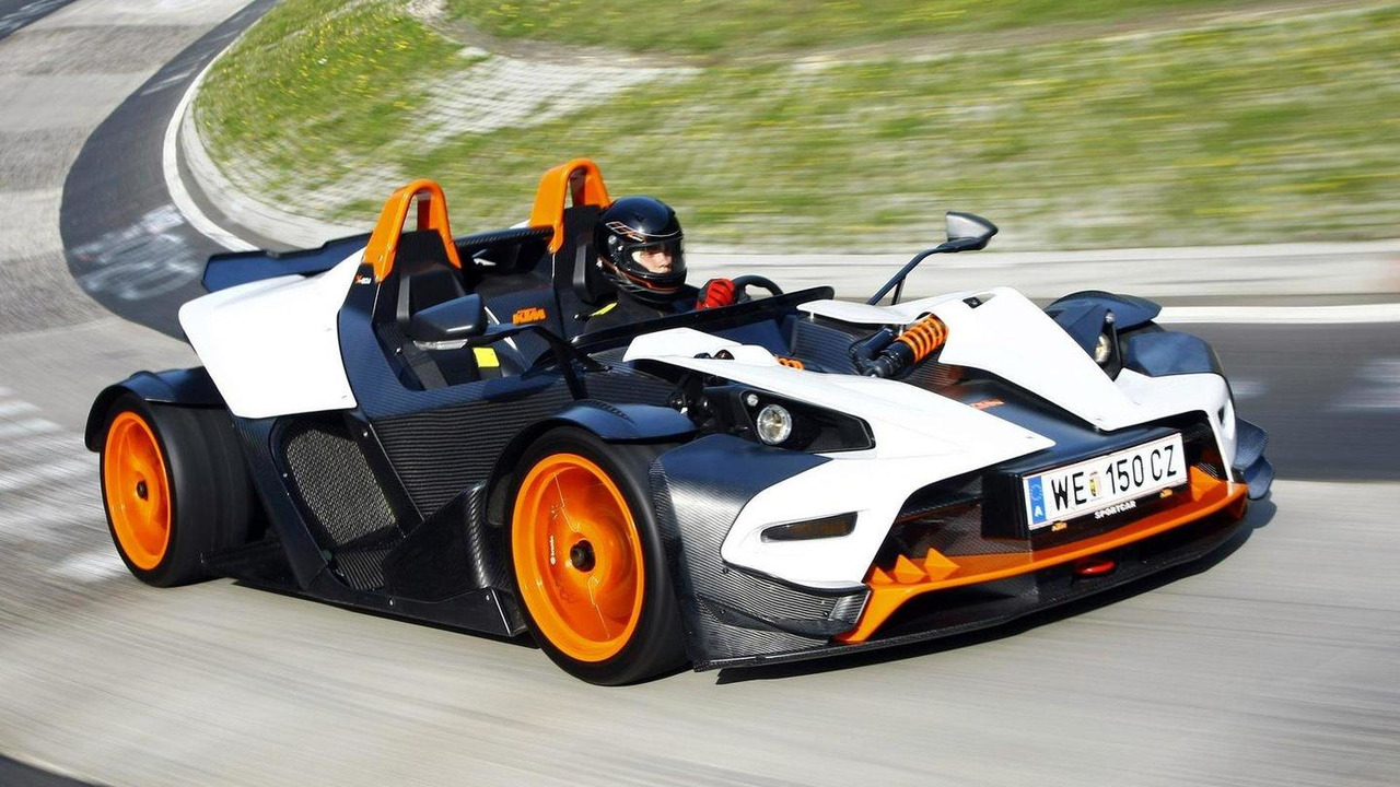 2011 KTM X-Bow R first photos 27.09.2010