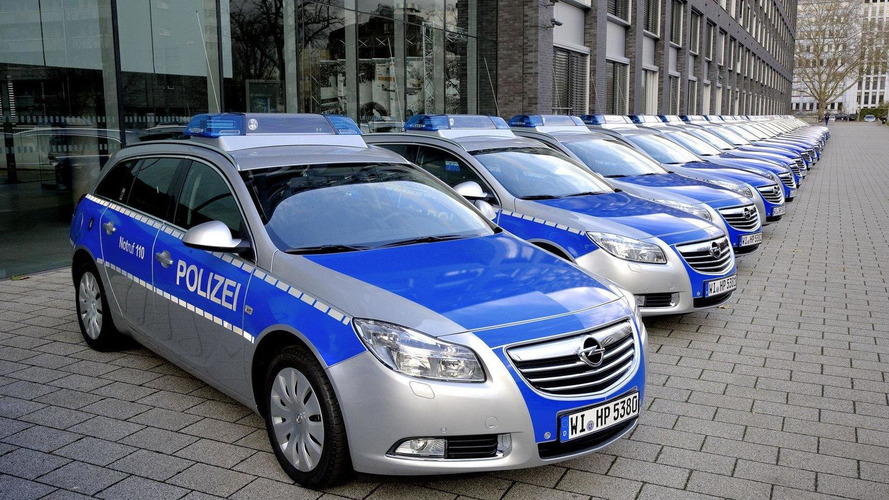 German police unit opt for Opel Insignia Sports Tourer