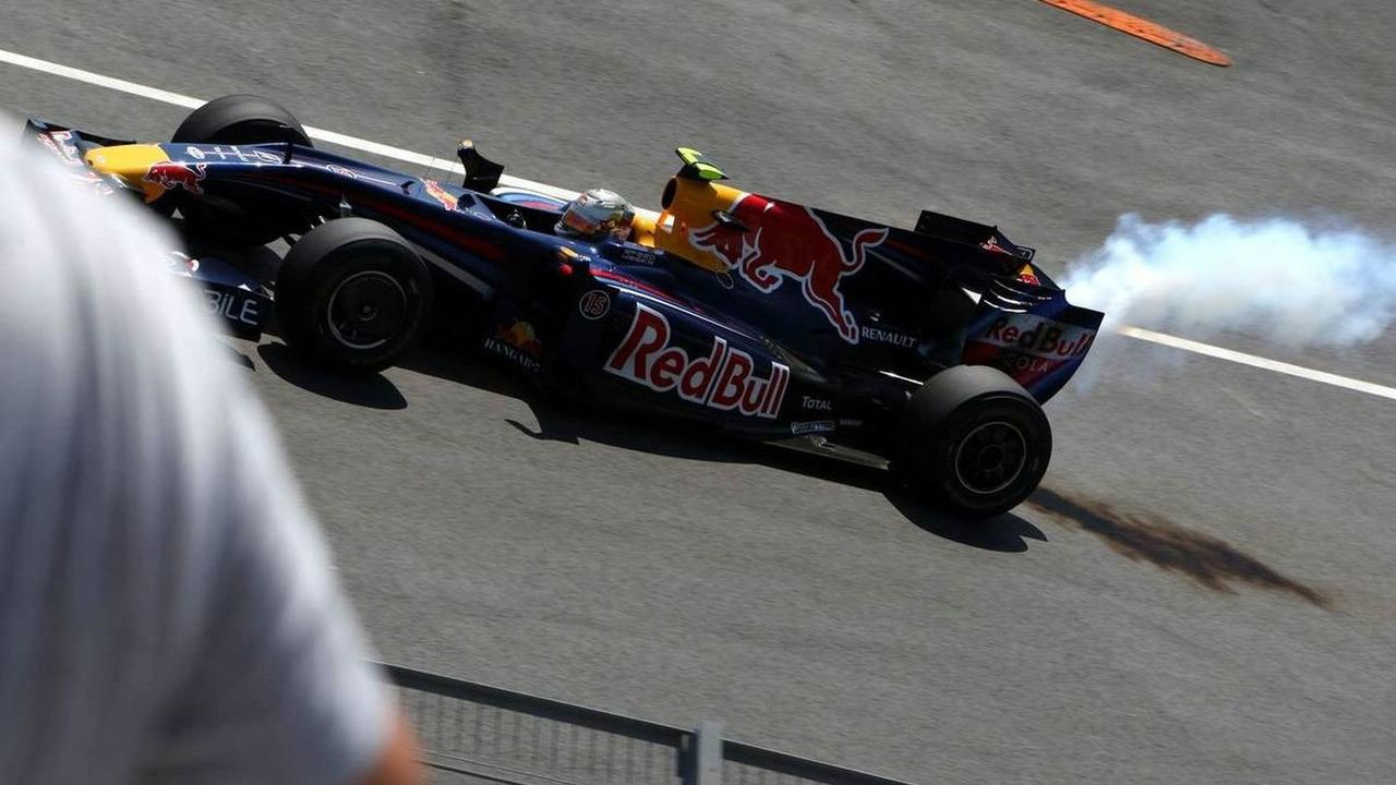 Sebastian Vettel, European Grand Prix, Valencia, Spain 23.08.2009