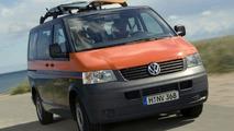 New VW Multivan Beach