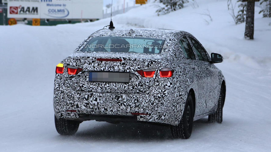 Next-gen Chevrolet Cruze shows off its taillights in new spy photos