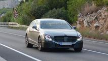 Mercedes Benz CLS Shooting Brake facelift spy photo