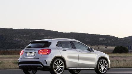 Mercedes-Benz GLA 45 AMG makes public debut at NAIAS
