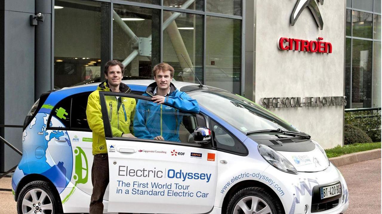 Citroën C-Zero Electric Odyssey 26.9.2012