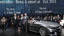 Mercedes S-Class Cabrio live at Frankfurt