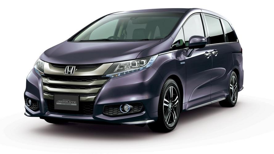 Honda Odyssey hybrid announced for Japan