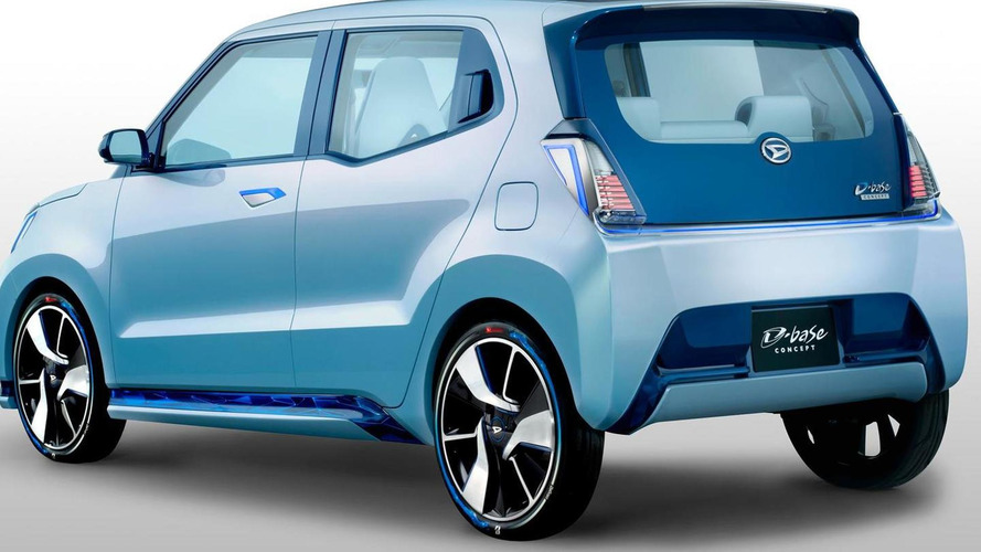 Daihatsu D-base concept previews the company's next-generation of compact cars