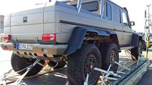 6x6 Mercedes-Benz G63 AMG V8 Biturbo spotted