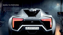W Motors Lykan Hypersport brochure