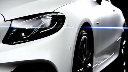 2018 Mercedes E-Class Coupe screenshots from teaser video